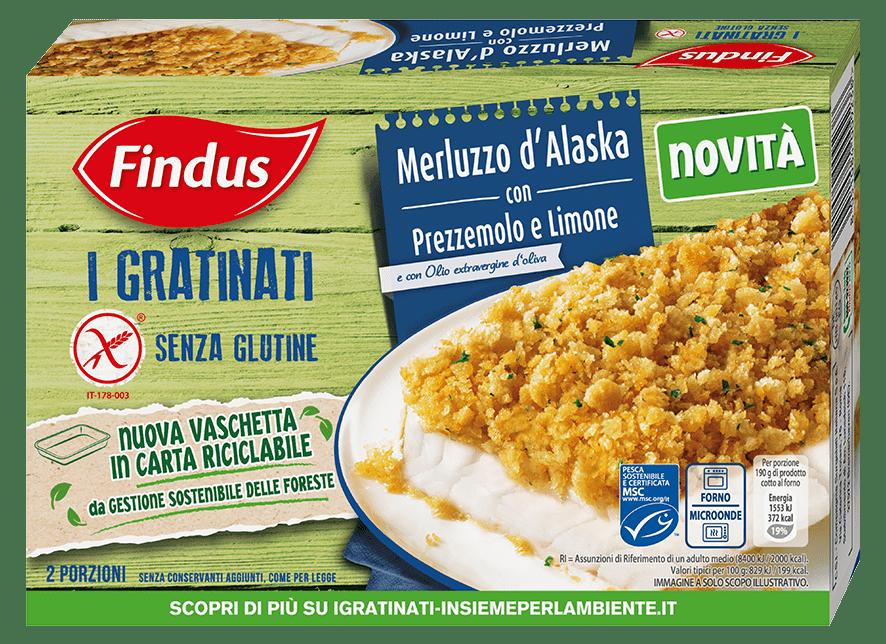 merluzzo gratinato senza glutine prezzemolo limone - Findus