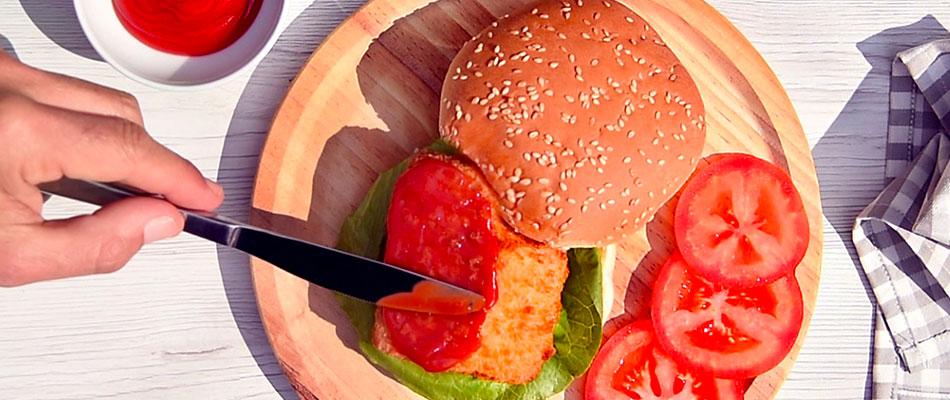 burger di salmone con limone e aneto - Findus