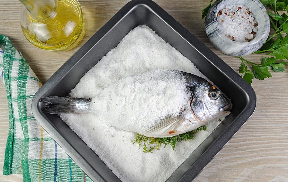 Come cucinare il pesce al sale idee e consigli findus for Cucinare sinonimo
