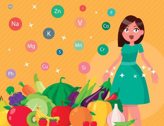 Cromoterapia alimentare – colori degli alimenti