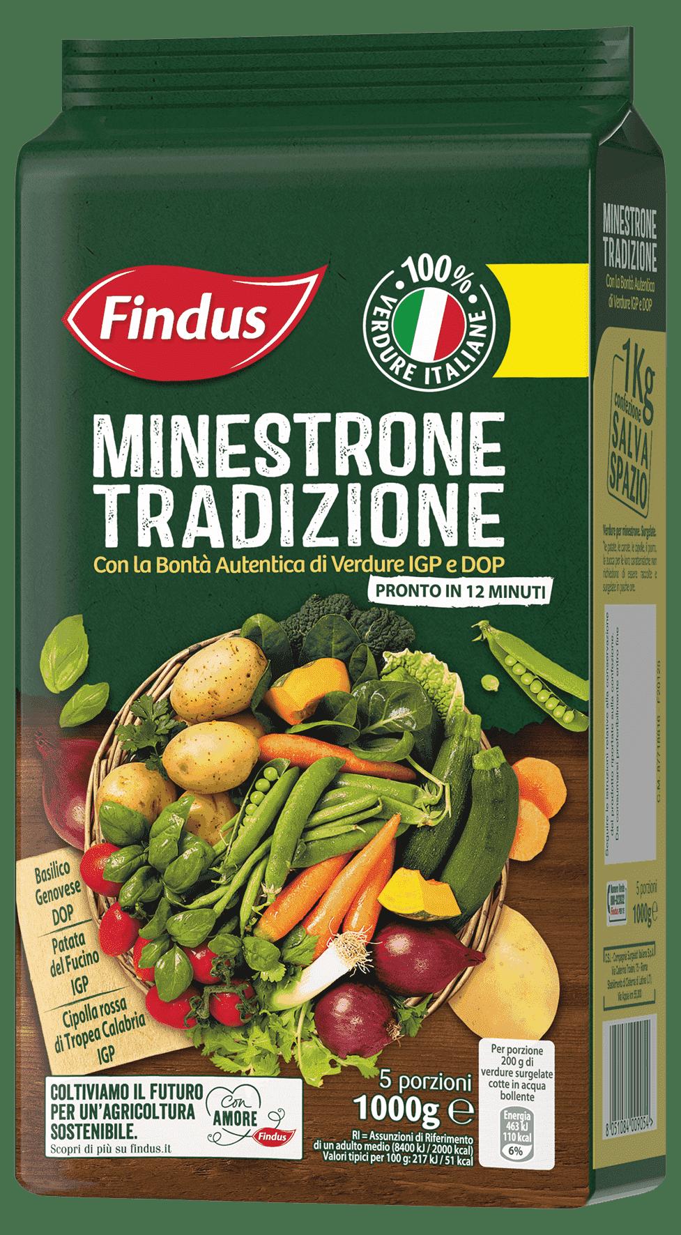 minestrone tradizione - Minestroni Findus