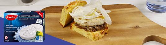 burger di merluzzo con finocchio e cipolla caramellata - Findus