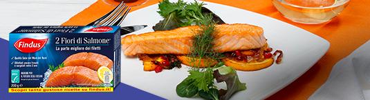 salmone all arancia con melograno - Findus
