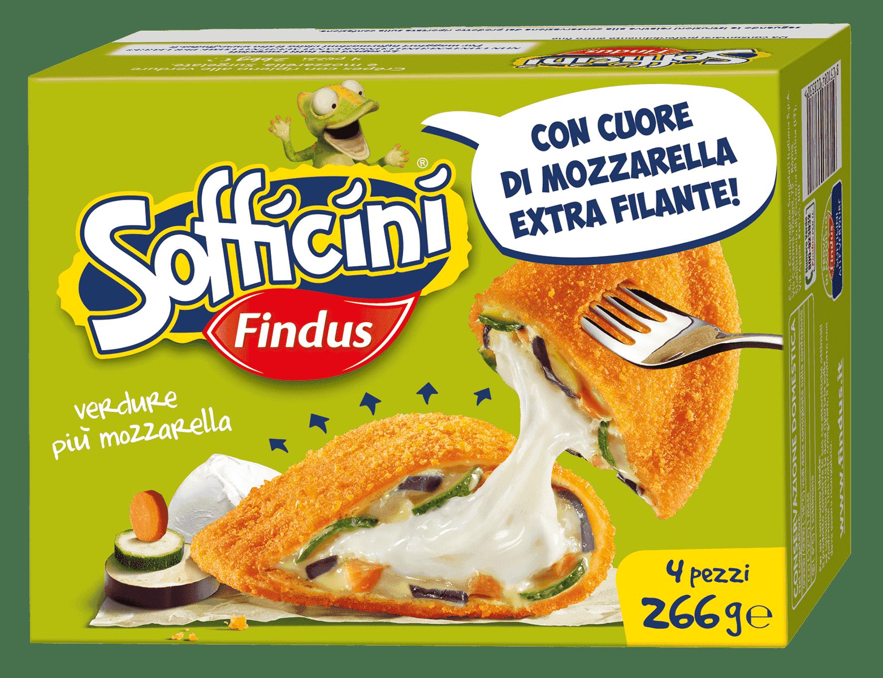 sofficini verdure piu mozzarella - Findus