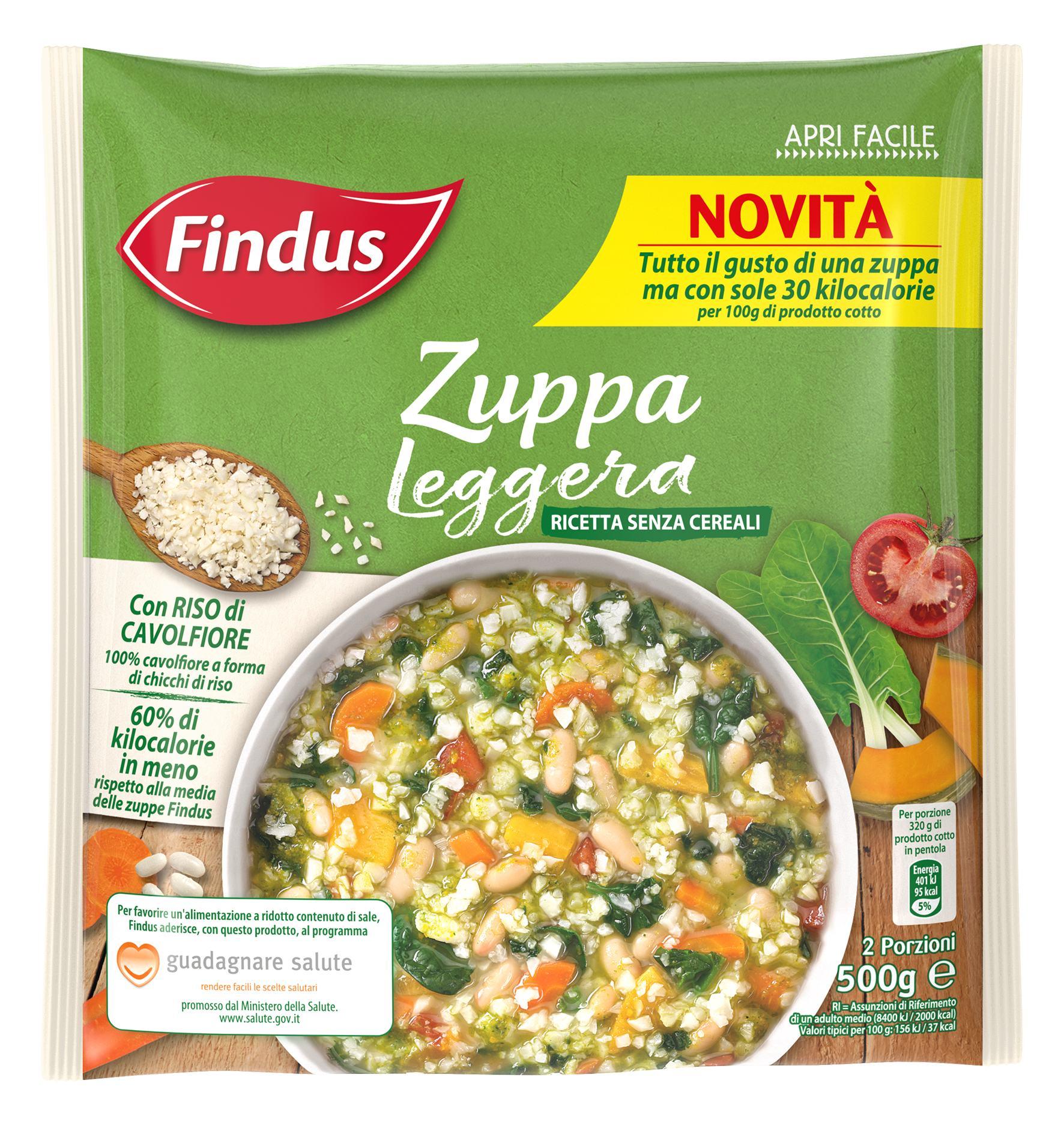 Zuppa Leggera - Zuppe Findus