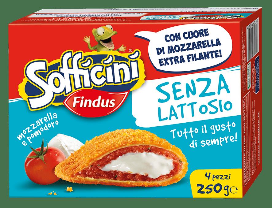 Sofficini Pomodoro e Mozzarella Senza Lattosio