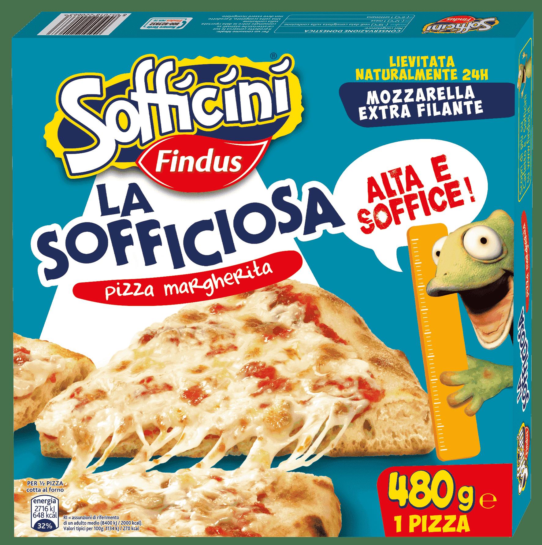 pizza margherita la sofficiosa - Findus
