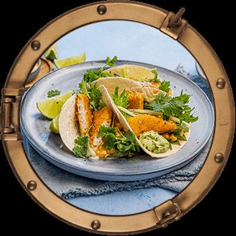 Fisketaco med fish & crisp