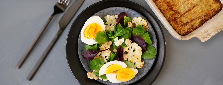 fiskegrateng salat egg