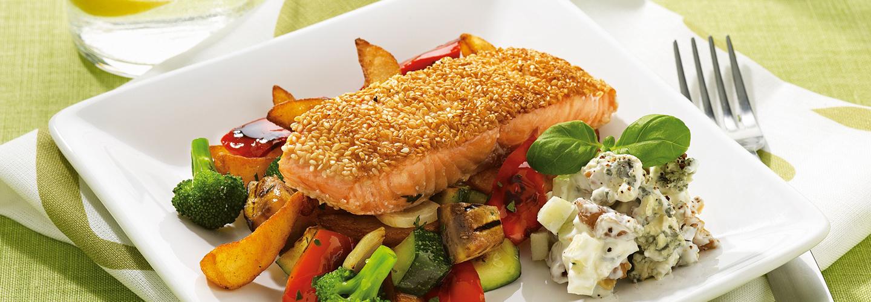 Grillede middelhavsgrønnsaker