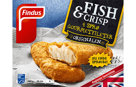 Fish  Crisp Gourmetfileer