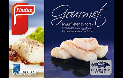Produktbilde av Findus gourmet torskefileter