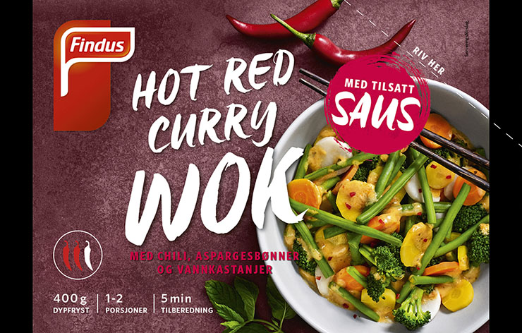 Hot Red Curry Wok