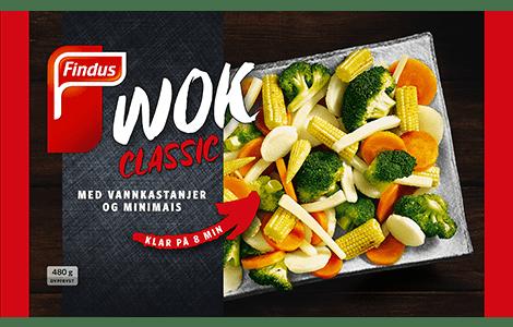 Wok Classic (produktbilde wok blanding fra Findus)