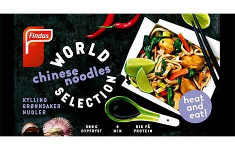 Chinese Noodles, pakningsbilde Findus