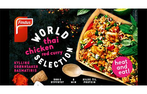 Thai Chicken - pakken du finner i frysedisken