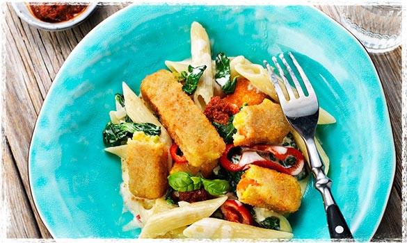 Recept med Green Cuisine Grönsakspinnar