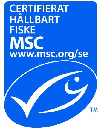 MSC-märkt fisk Fin