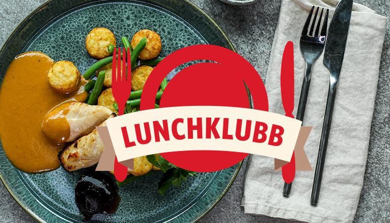 Findus lunchklubb logo på grillar kycklingfilé