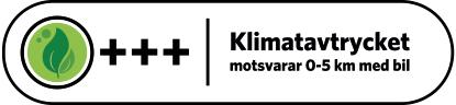 Klimatberäknade recept symbol 1,5 - 2,4 kg CO2
