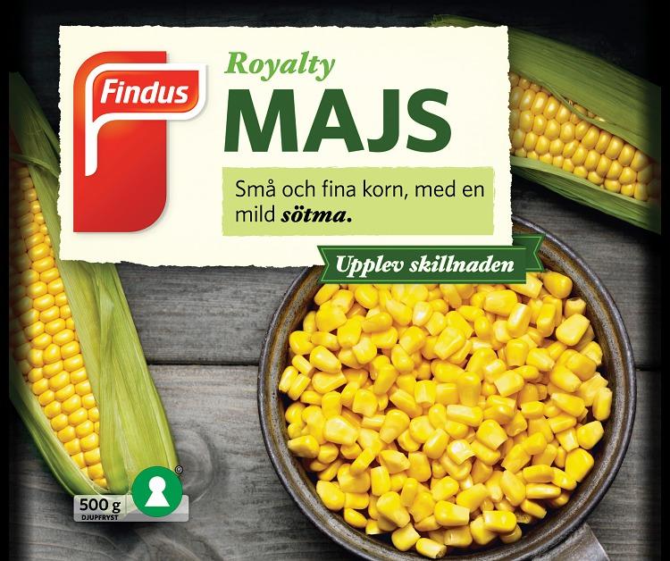 majs i skål och majskolv