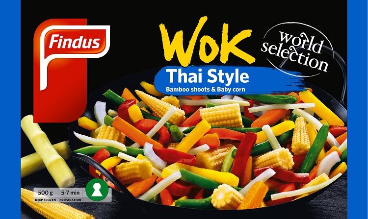 Findus Wok thai förpackning