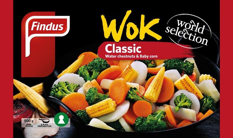 Findus wok classic förpackning
