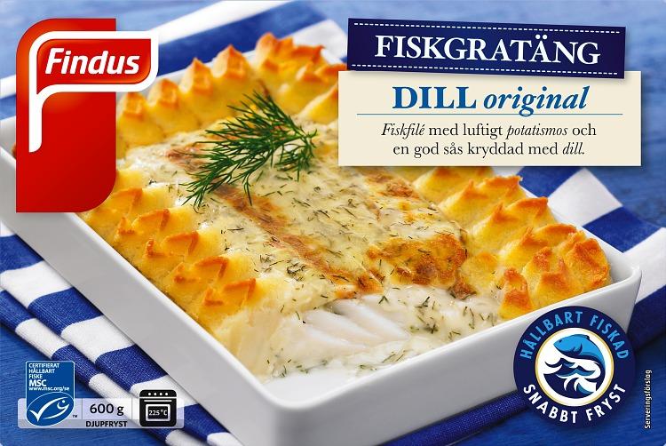 Findus Fiskgratäng förpackning