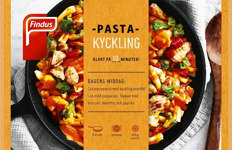 Förpackning Finuds Pasta Kyckling