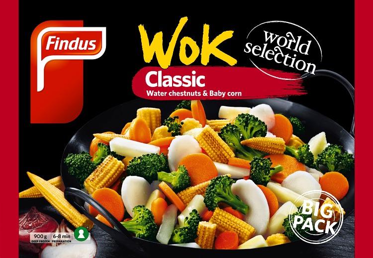 Förpackning Findus Wok Classic