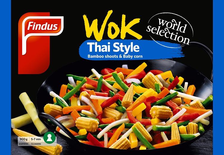 Förpackning Findus Wok Thai