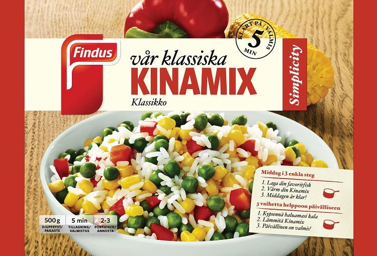Förpackning Findus Vår klassiska kinamix