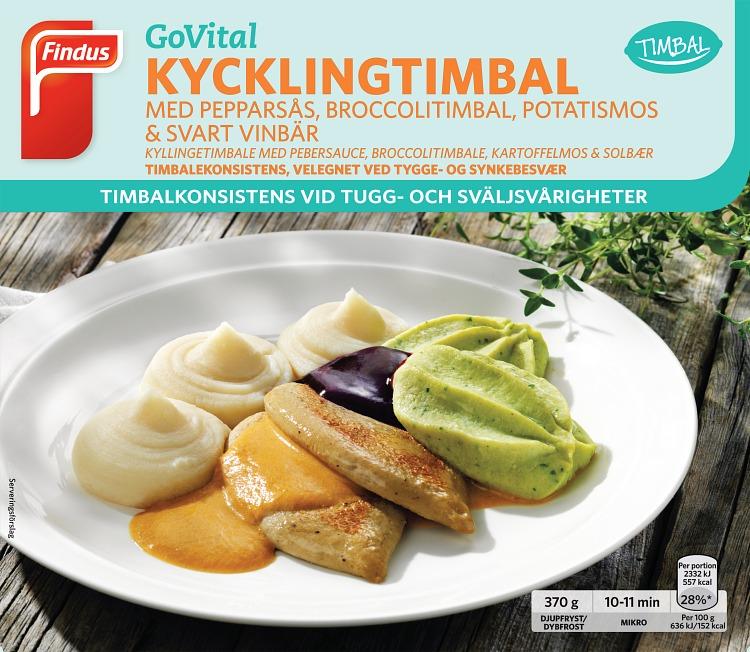 portionsförpackning kycklingtimbal