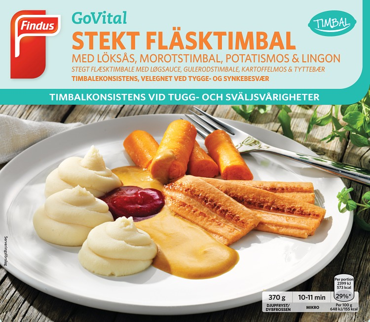 portionsförpackning stekt fläsktimbal