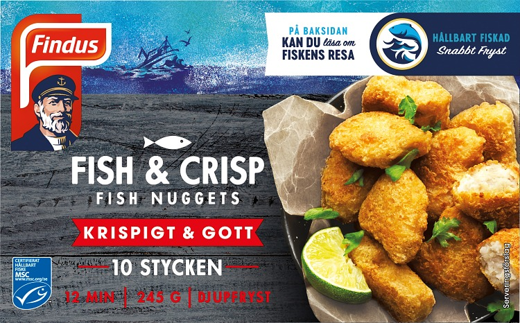 Fish & Crisp Fish Nuggest