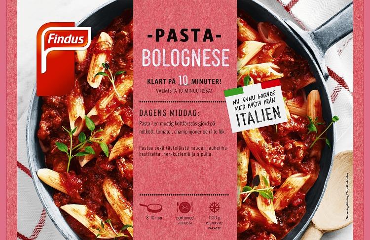 Förpackning Pasta Bolognese