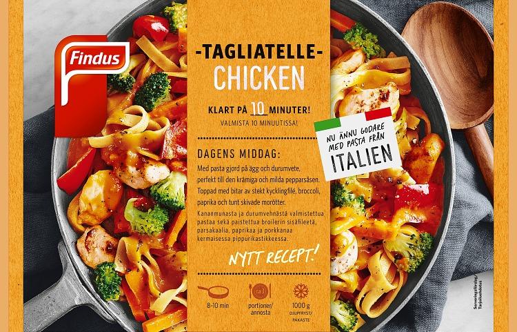 Förpackning Tagliatelle Chicken