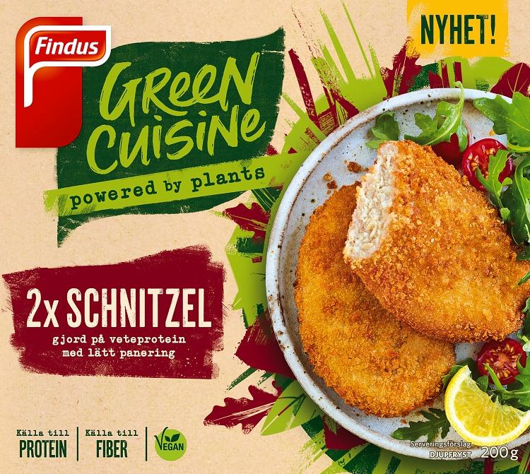 Förpackning Green Cuisine Schnitzel