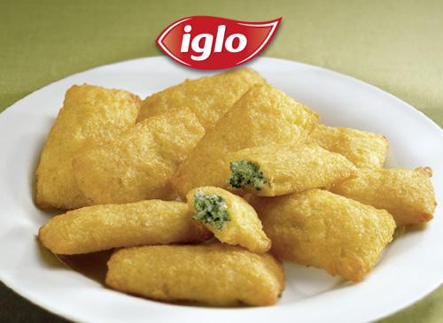 Kartoffeltaschen Frischkäse-Broccoli