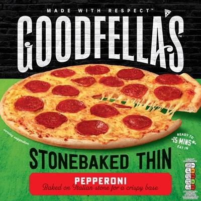 Stonebaked Thin Pepperoni