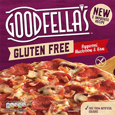 Goodfella's Gluten Free Pepperoni, Ham & Mushroom Pizza