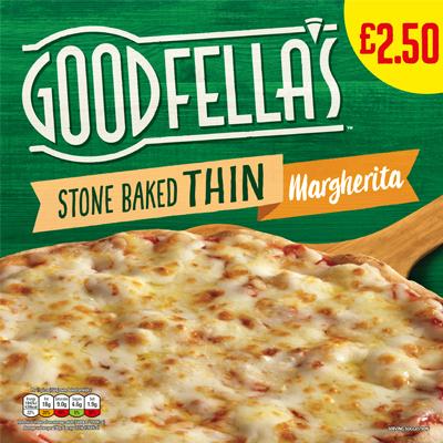 Goodfellas Stone Baked Thin Margherita PMP