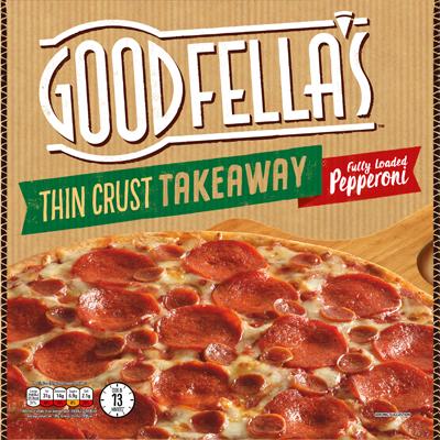 Goodfella's Thin Takeaway Pepperoni