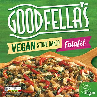 Goodfella's Stone Baked Vegan Falafel Pizza