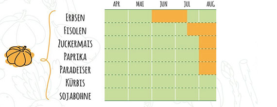 Iglo Saisonkalender