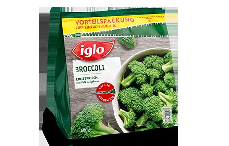 Tüte iglo Produkt Broccoli