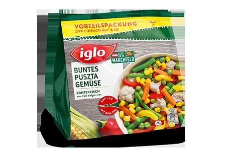 Tüte iglo Produkt Buntes Puszta Gemüse