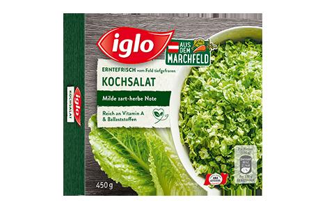 Packung iglo Produkt Kochsalat