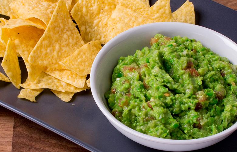 Guacamole aus Iglo Erbsen
