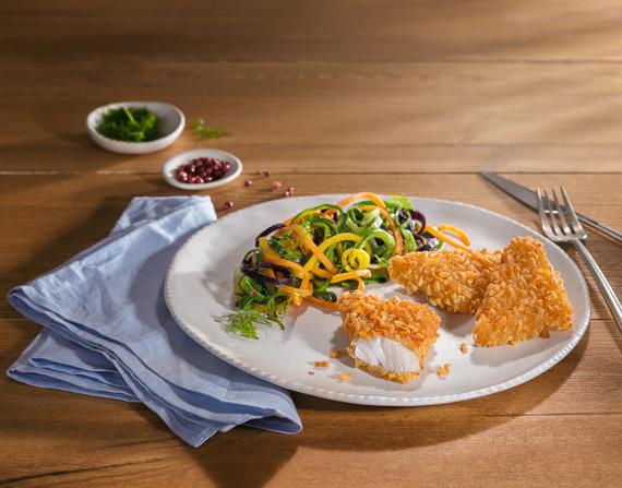 Fischroesti auf Teller